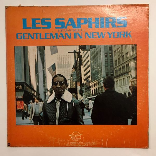 LES SAPHIRS - Gentleman in New York - LP