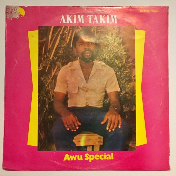 AKIM TAKIM - Awu special - LP