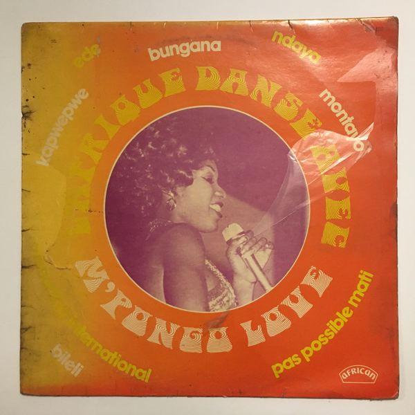 M'PONGO LOVE - L'Afrique danse - LP