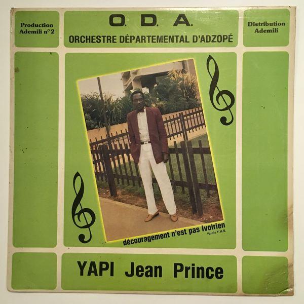 ORCHESTRE DEPARTEMENTAL D'ADZOPE - Yapi Jean Prince - 33T