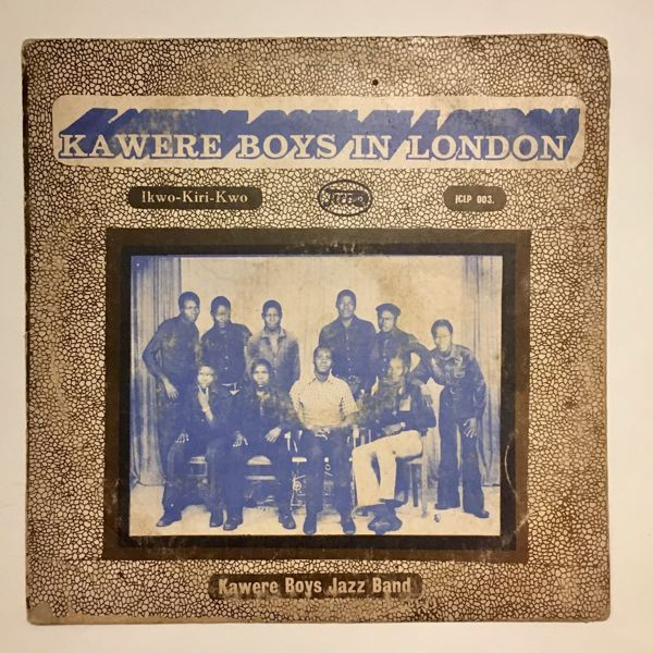 KAWERE BOYS JAZZ BAND - In London - 33T