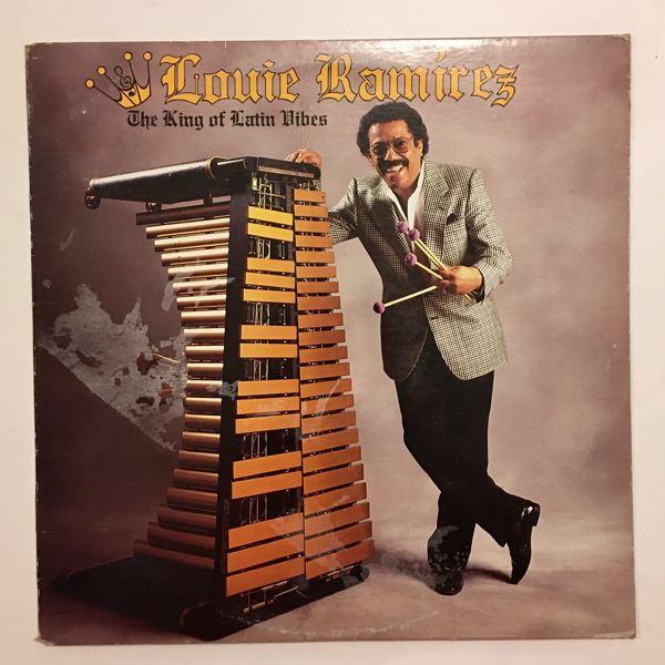LOUIE RAMIREZ - The King of Latin vibes - LP