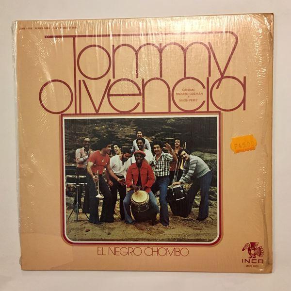 TOMMY OLIVENCIA - El Negro Chombo - LP