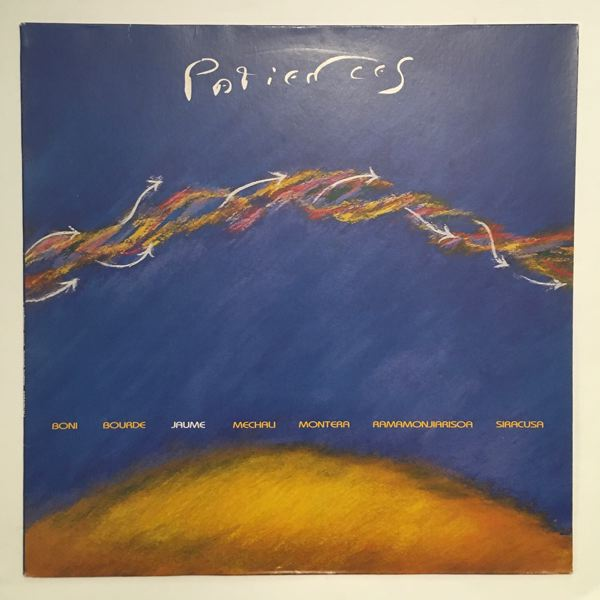 ANDRE JAUME - Patiences - LP