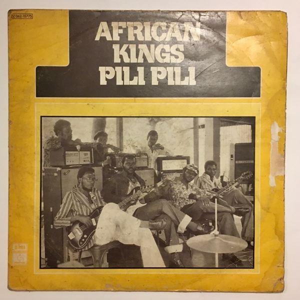 AFRICAN KINGS - Pili pili - 33T