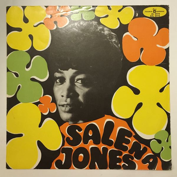 SALENA JONES - With The Keith Mansfield Orchestra - LP