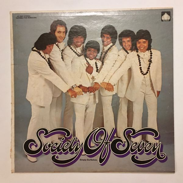 SOCIETY OF SEVEN - Simply Ourselves - LP