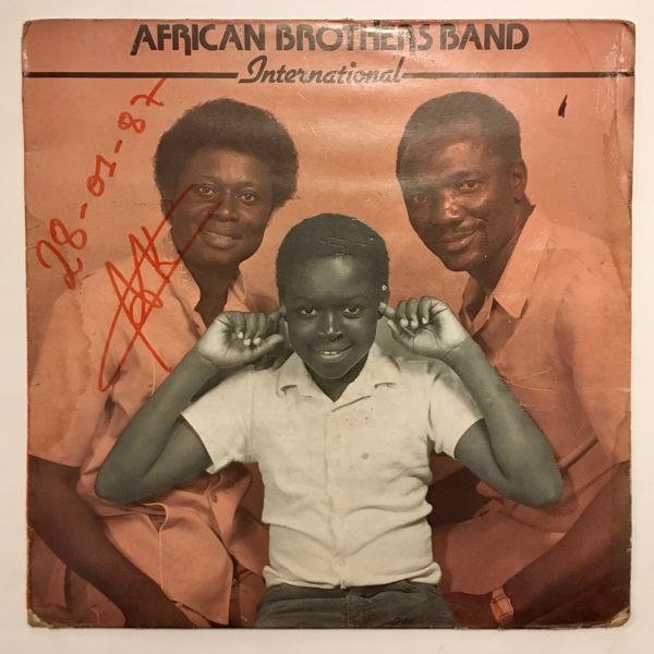 AFRICAN BROTHERS BAND INTERNATIONAL - Madam fo pa wuo - LP