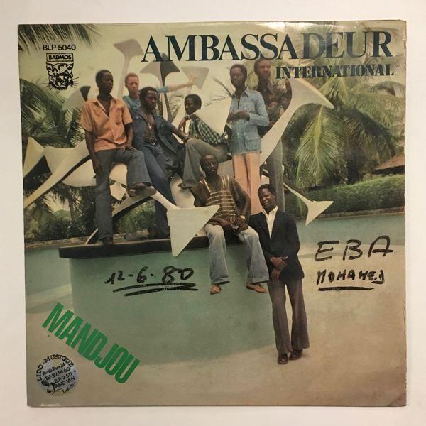 AMBASSADEUR INTERNATIONAL - Mandjou - LP