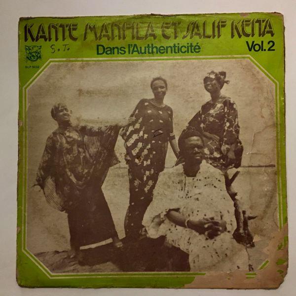 KANTE MANFILA ET SALIF KEITA - Dans l'authenticite vol.2 - LP