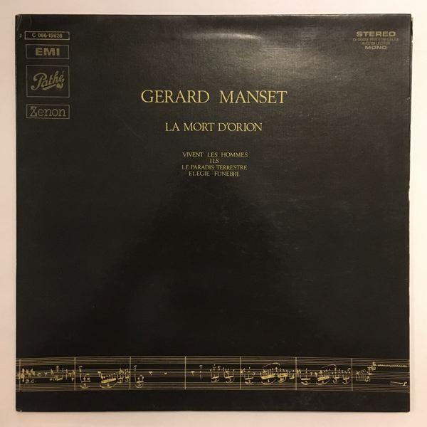 GERARD MANSET - La Mort d'Orion - LP