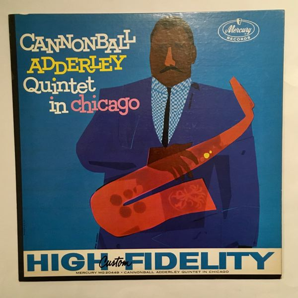 CANNONBALL ADDERLEY QUINTET - In Chicago - LP