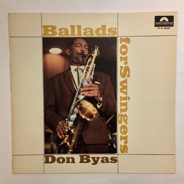 DON BYAS - Ballads For Swingers - 33T