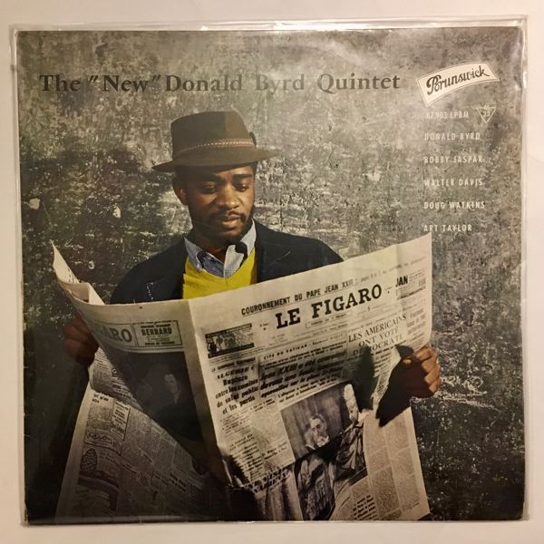 DONALD BYRD - The New Donald Byrd Quintet - 33T