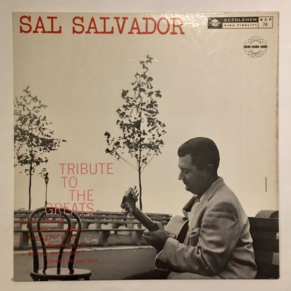 SAL SALVADOR - Tribute To The Greats - 33T