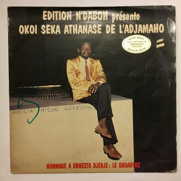 OKOI SEKA ATHANASE - Hommage a Ernesto Djedje - LP