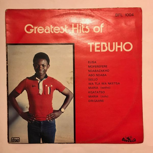 TEBUHO - Greatest hits - LP
