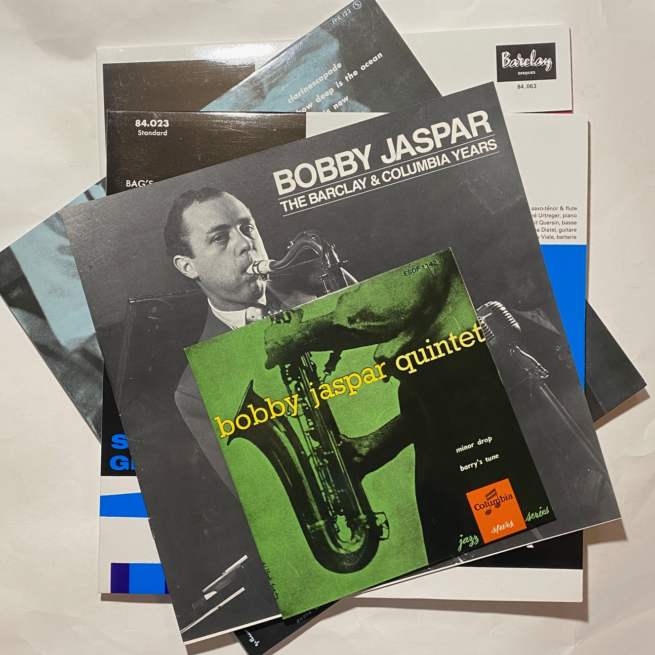 Bobby Jaspar The Barclay And Columbia Years