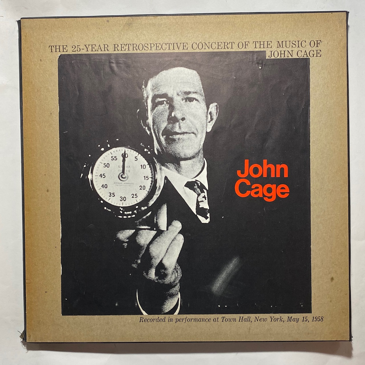 JOHN CAGE - The 25-Year Retrospective Concert Of The Music Of John Cage - LP Box Set