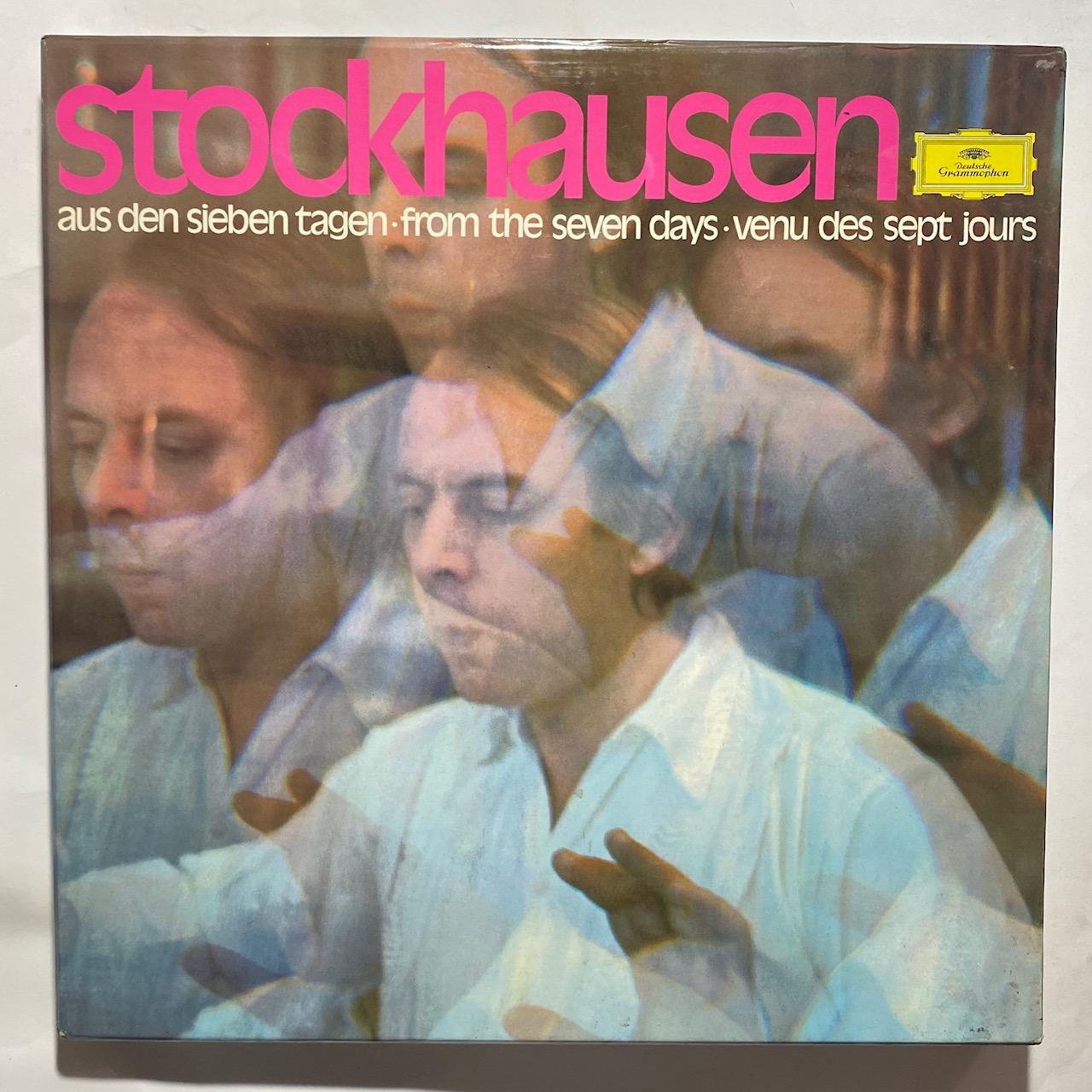 KARLHEINZ STOCKHAUSEN - Aus Den Sieben Tagen - LP x 7