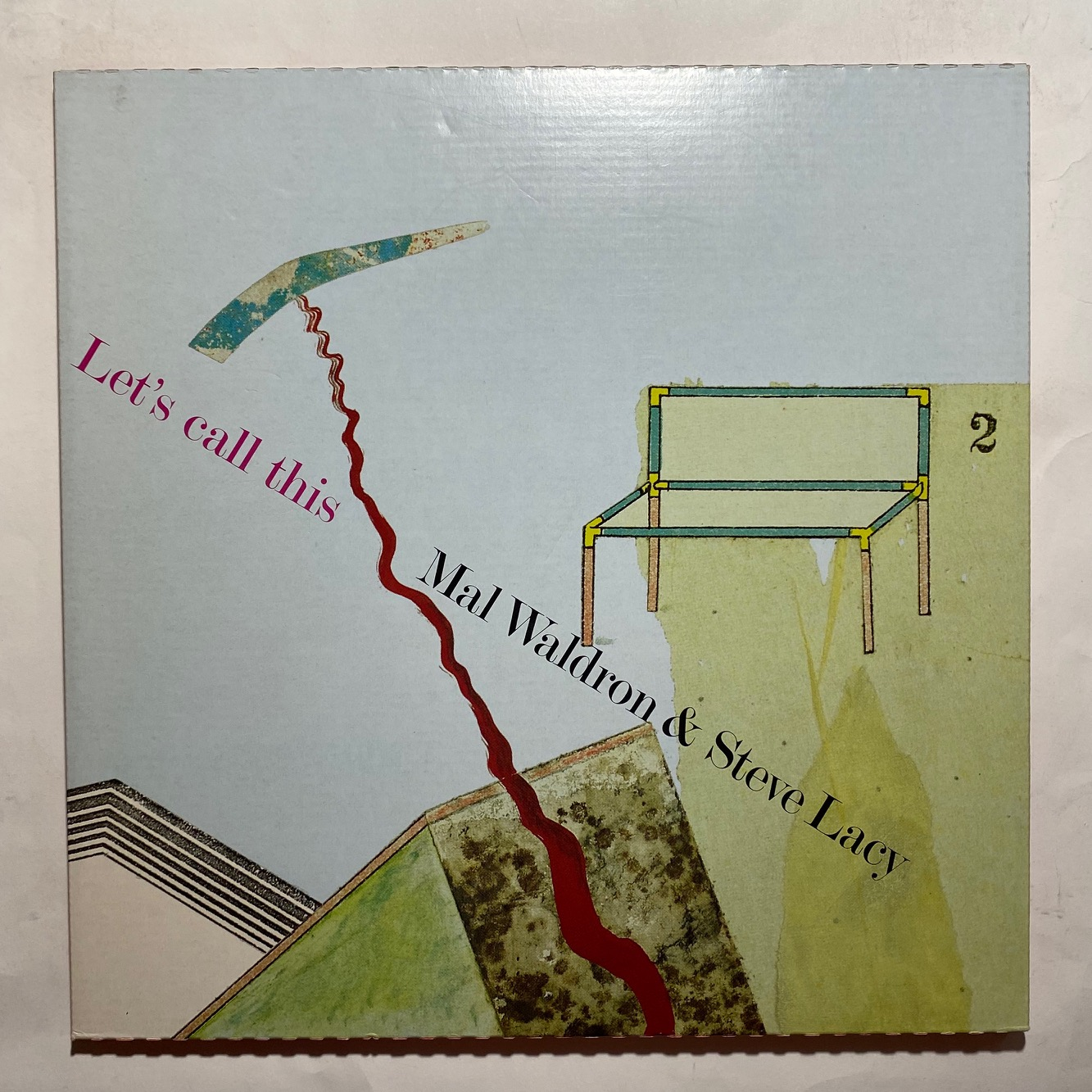 STEVE LACY / MAL WALDRON - Let's Call This - 33T x 2