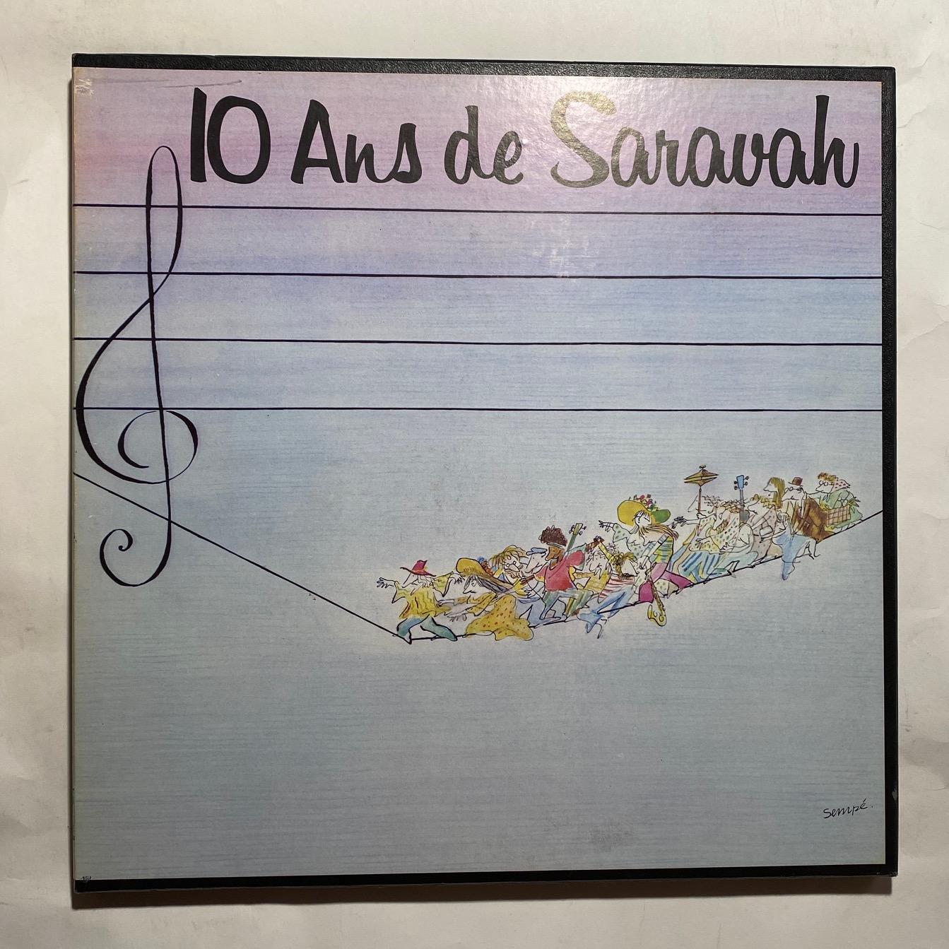 VARIOUS - 10 Ans De Saravah - Coffret 33T