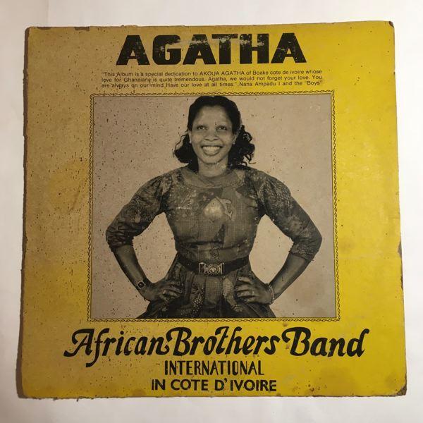 AFRICAN BROTHERS BAND INTERNATIONAL - Agatha - LP