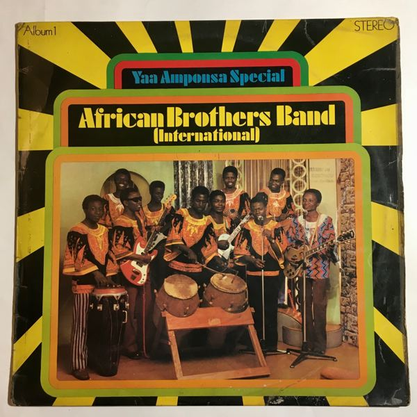AFRICAN BROTHER'S BAND - Yaa Amponsa Special - LP