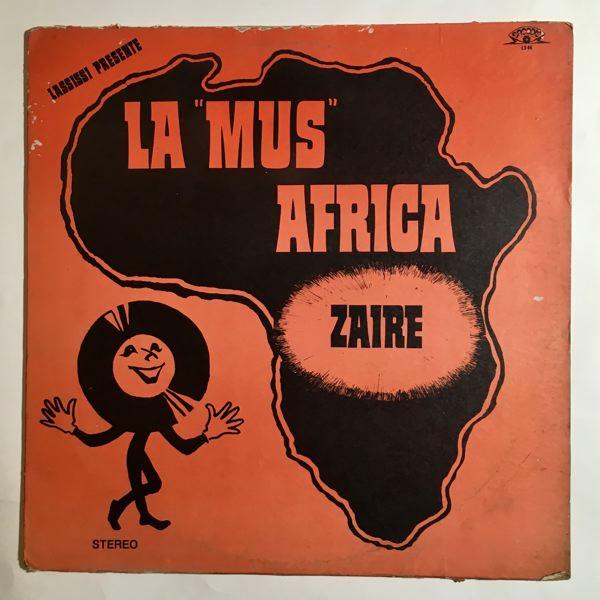 LA 'MUS' AFRICA - Same - LP