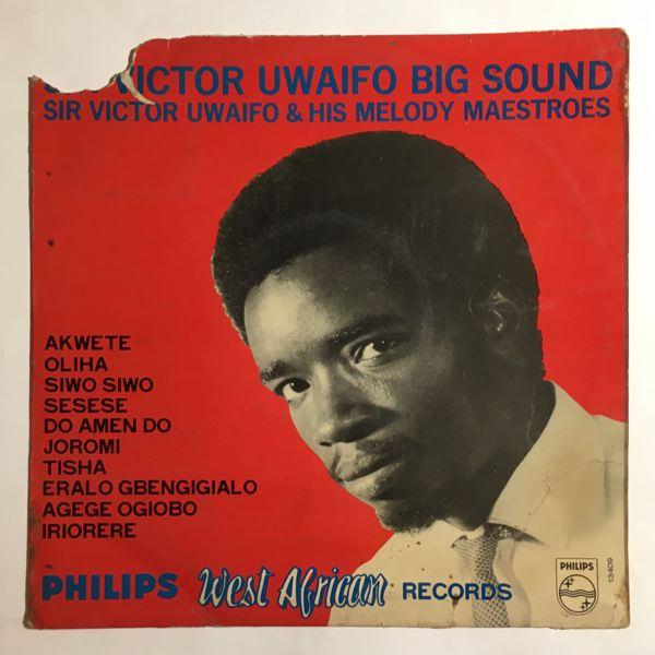 SIR VICTOR UWAIFO - Big sound - 10 inch