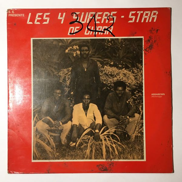 LES 4 SUPERS-STAR OF GHANA - Adjouma soniye - 33T