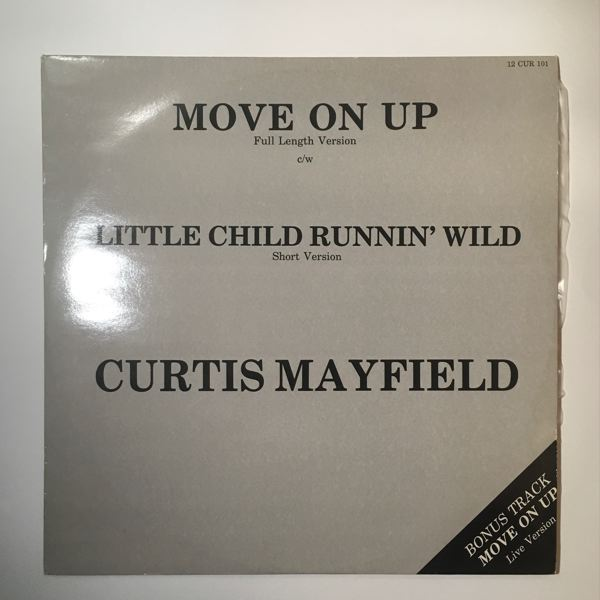 CURTIS MAYFIELD - Move On Up - Maxi 45T