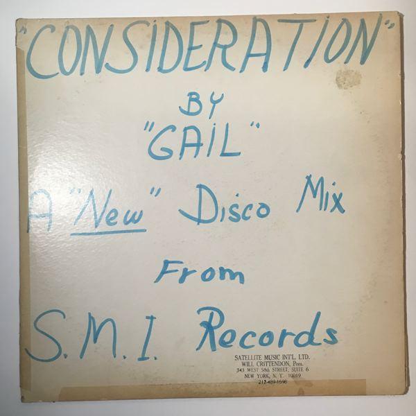 GAIL - Consideration - Maxi 45T