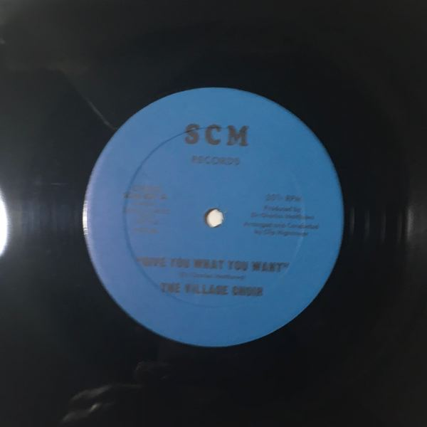 THE VILLAGE CHOIR - Give you what you want - Maxi 45T