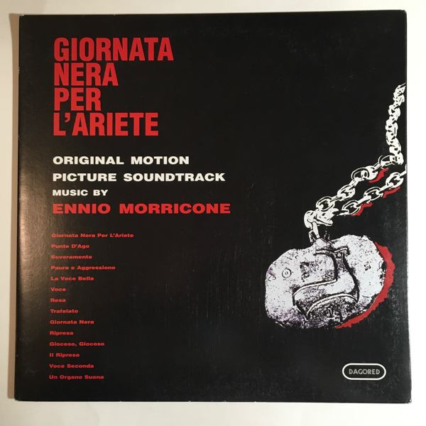 Ennio Morricone Giornata Nera Per L'Ariete