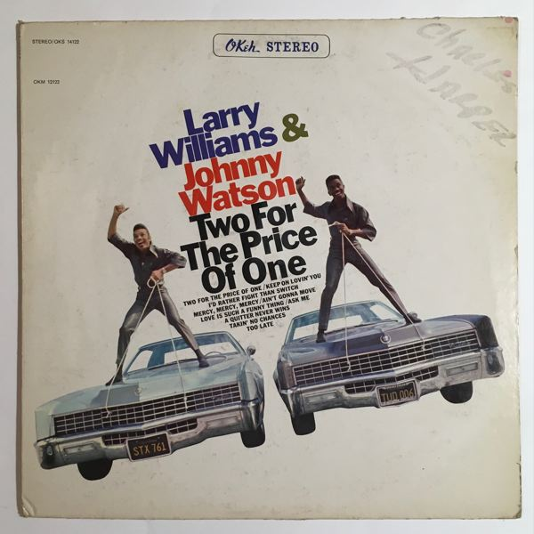 Larry Williams & Johnny Watson Two for the price of one