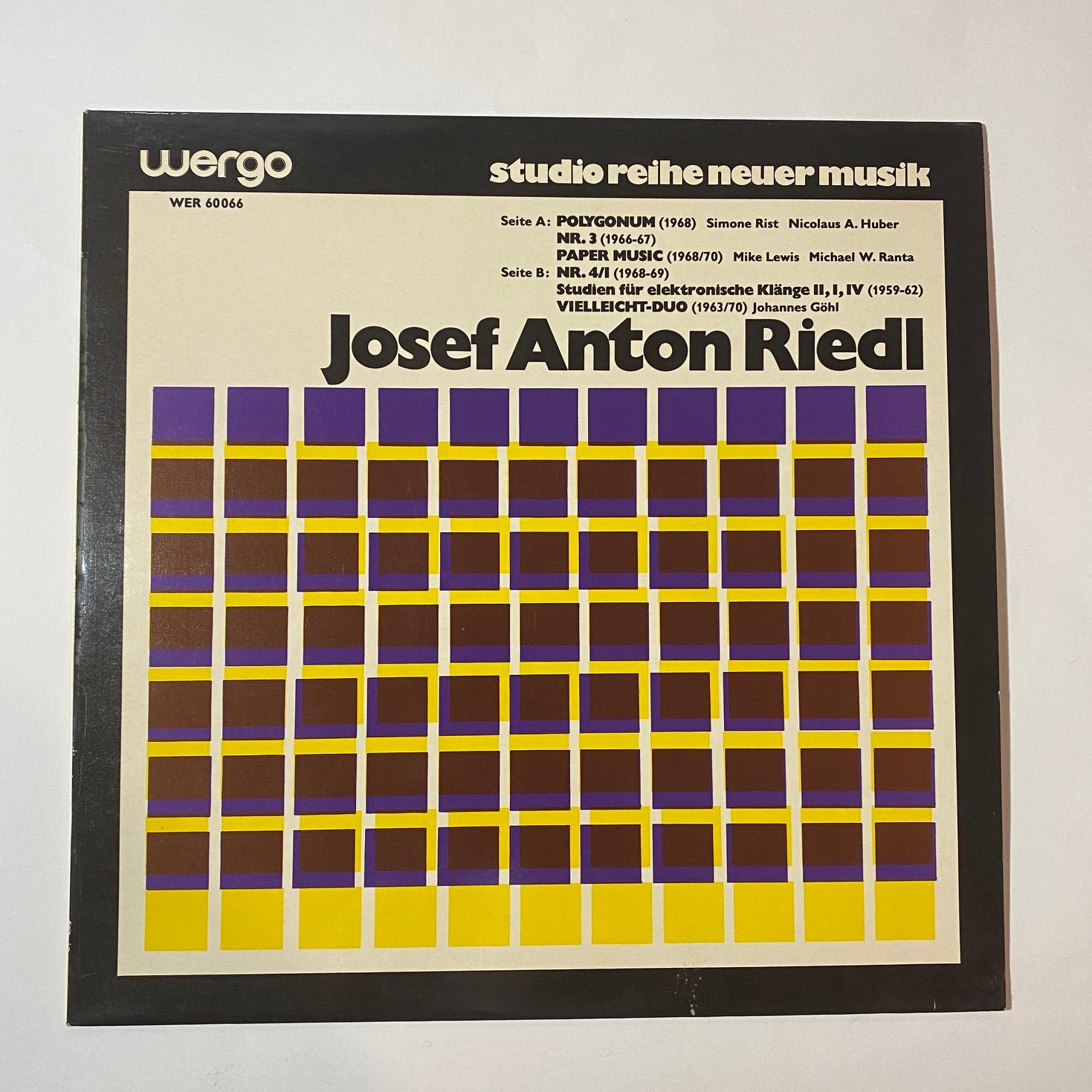 JOSEF ANTON RIEDL - Same - LP