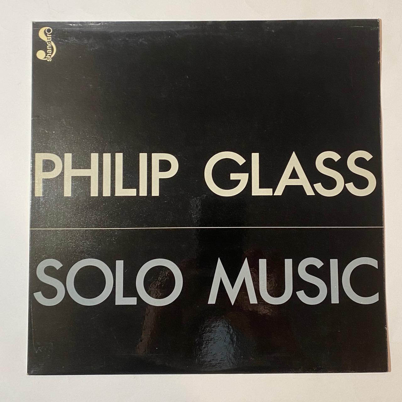 PHILIP GLASS - Solo Music - LP