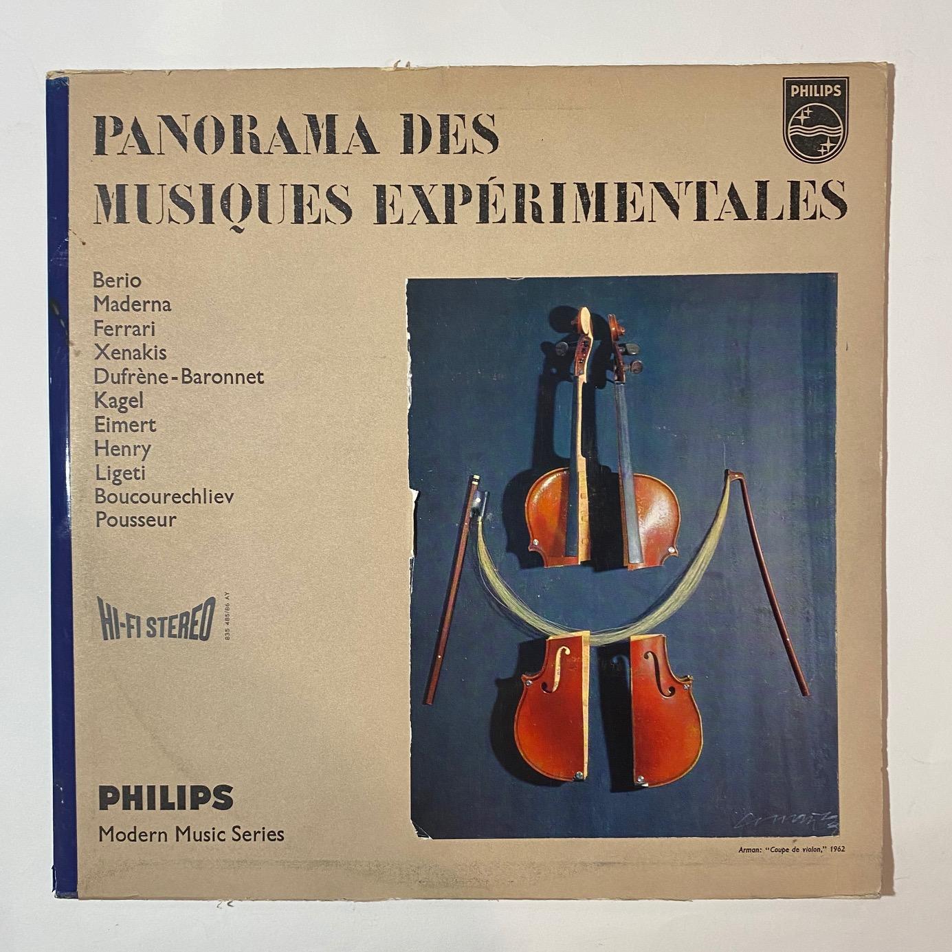 VARIOUS - Panorama Des Musiques Experimentales - LP x 2
