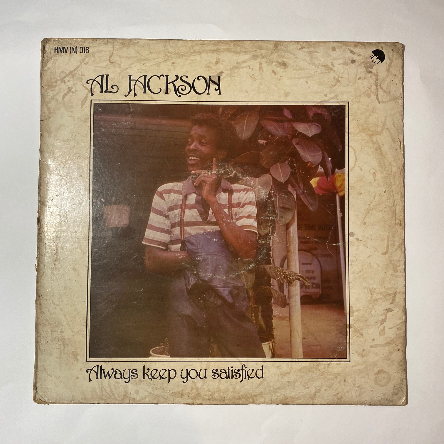 AL JACKSON - Always keep you satisfied - 33T
