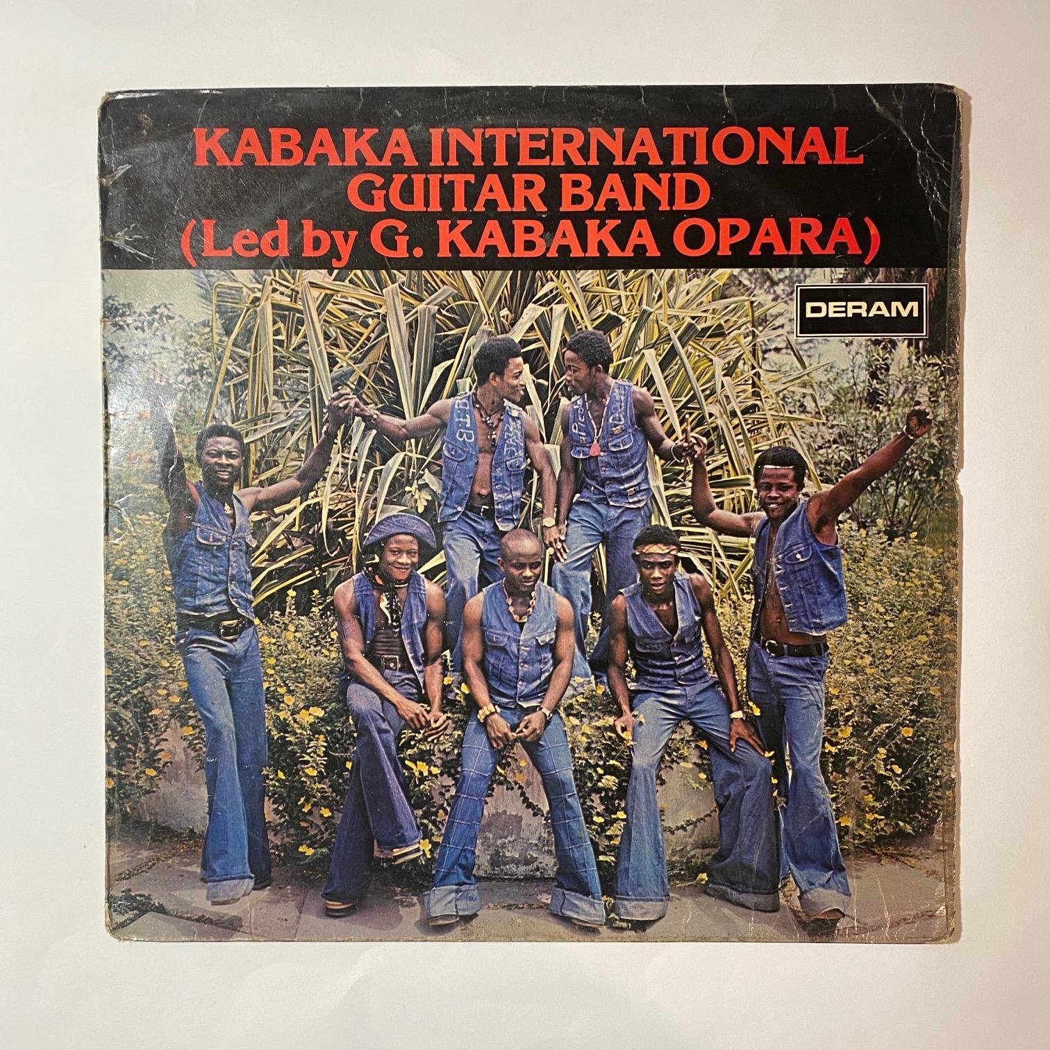 KABAKA INTERNATIONAL GUITAR BAND - Led by G. Kabaka Opara - 33T