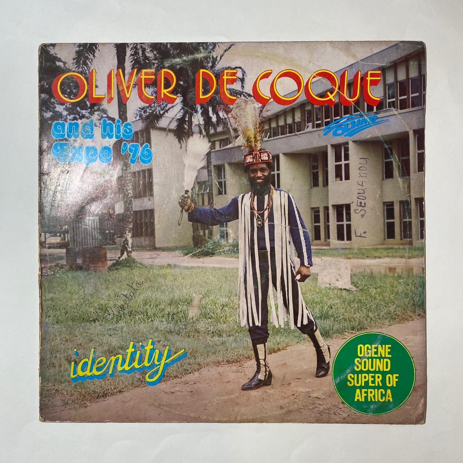OLIVER DE COQUE & HIS EXPO 76 - Identity - 33T