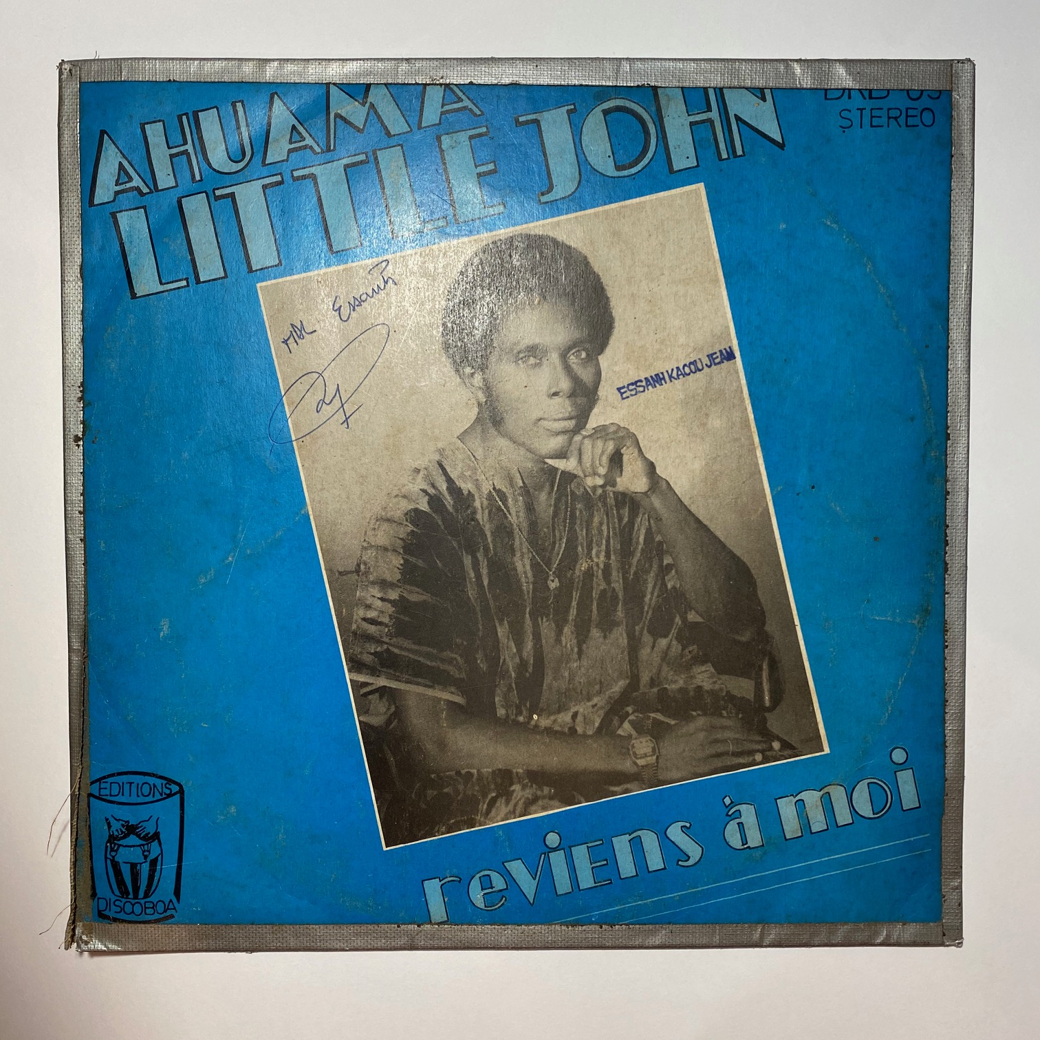 AHUAMA LITTLE JOHN - Reviens a moi - 33T