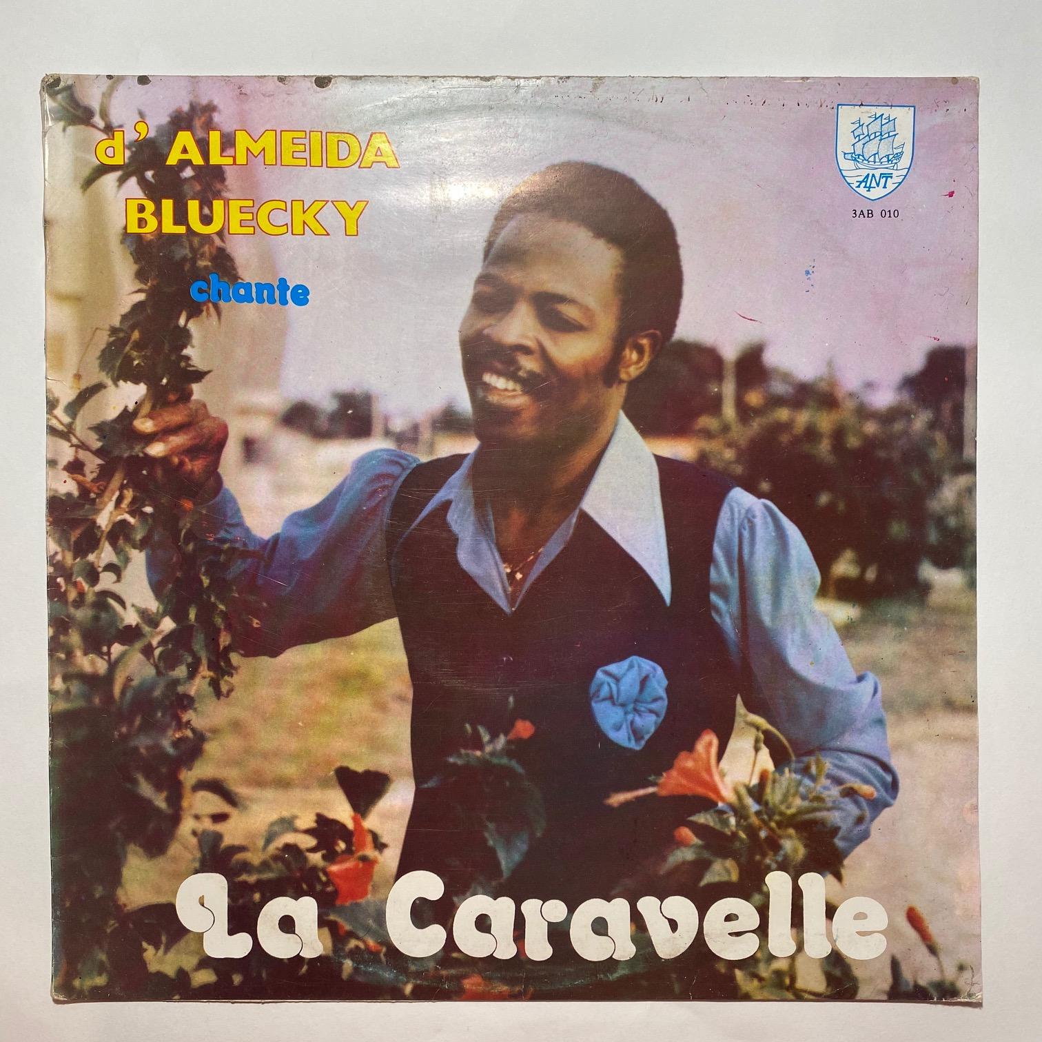 D'ALMEIDA BLUECKY - Chante la caravelle - LP