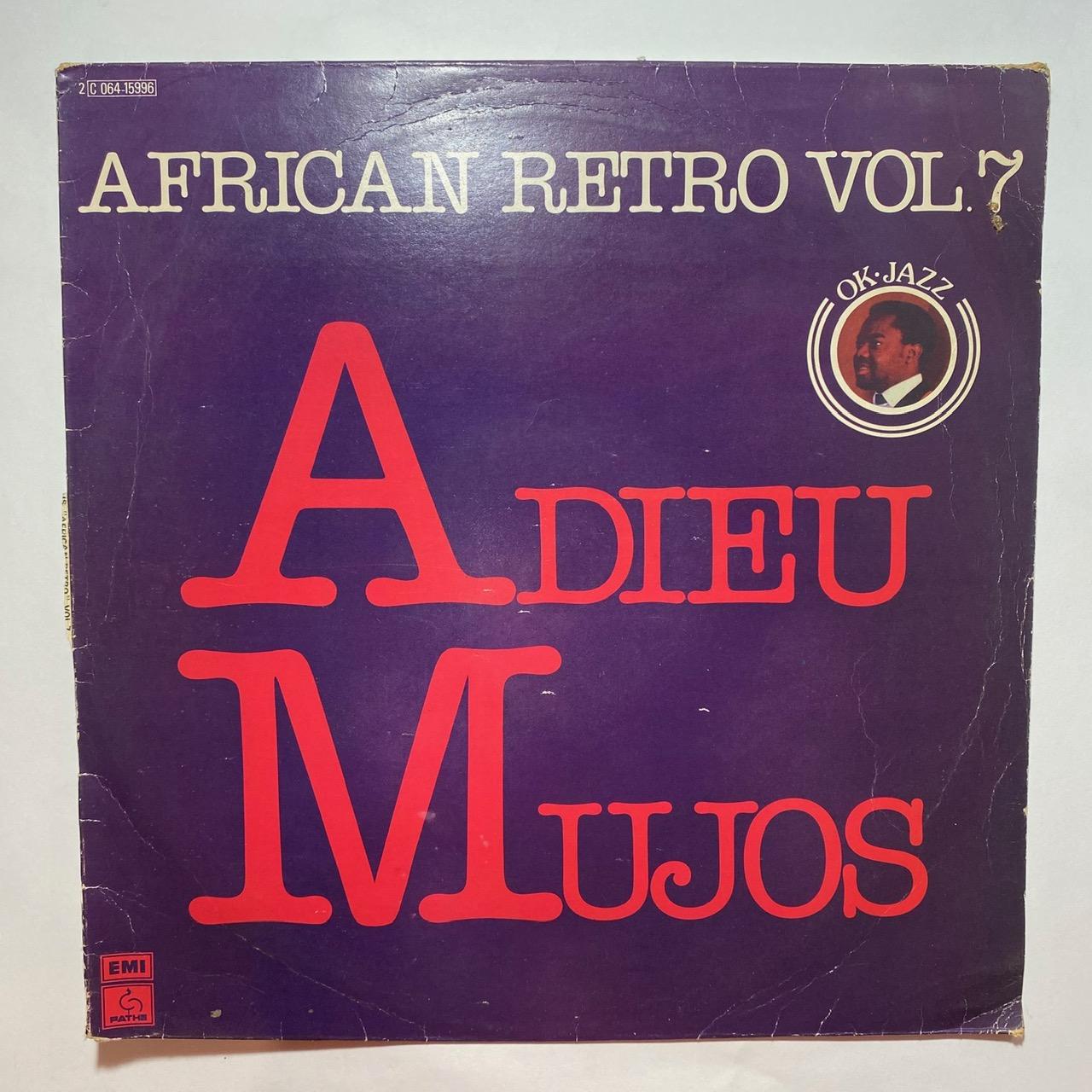 OK Jazz Adieu Mujos African retro Vol.7