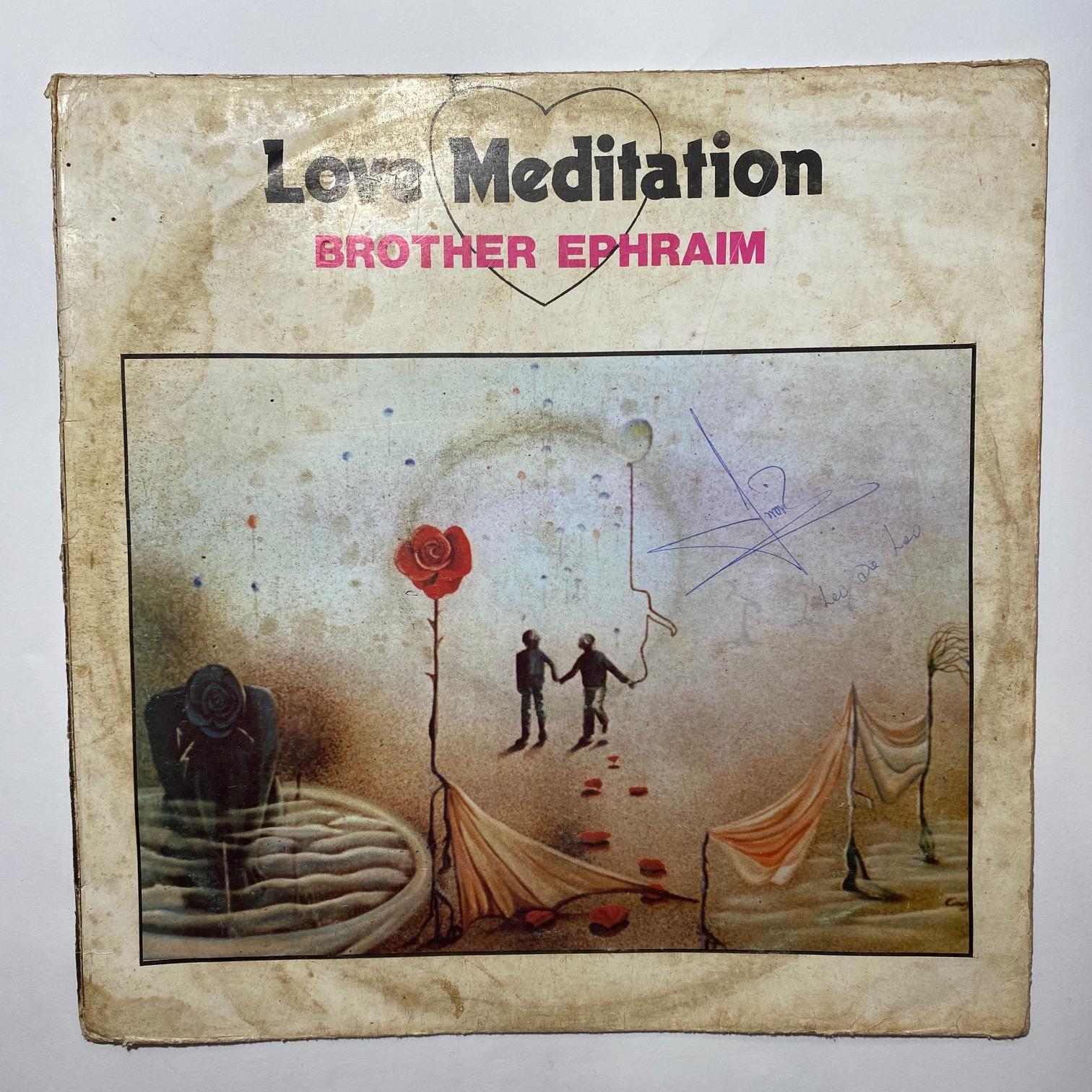 BROTHER EPHRAIM - Love meditation - 33T