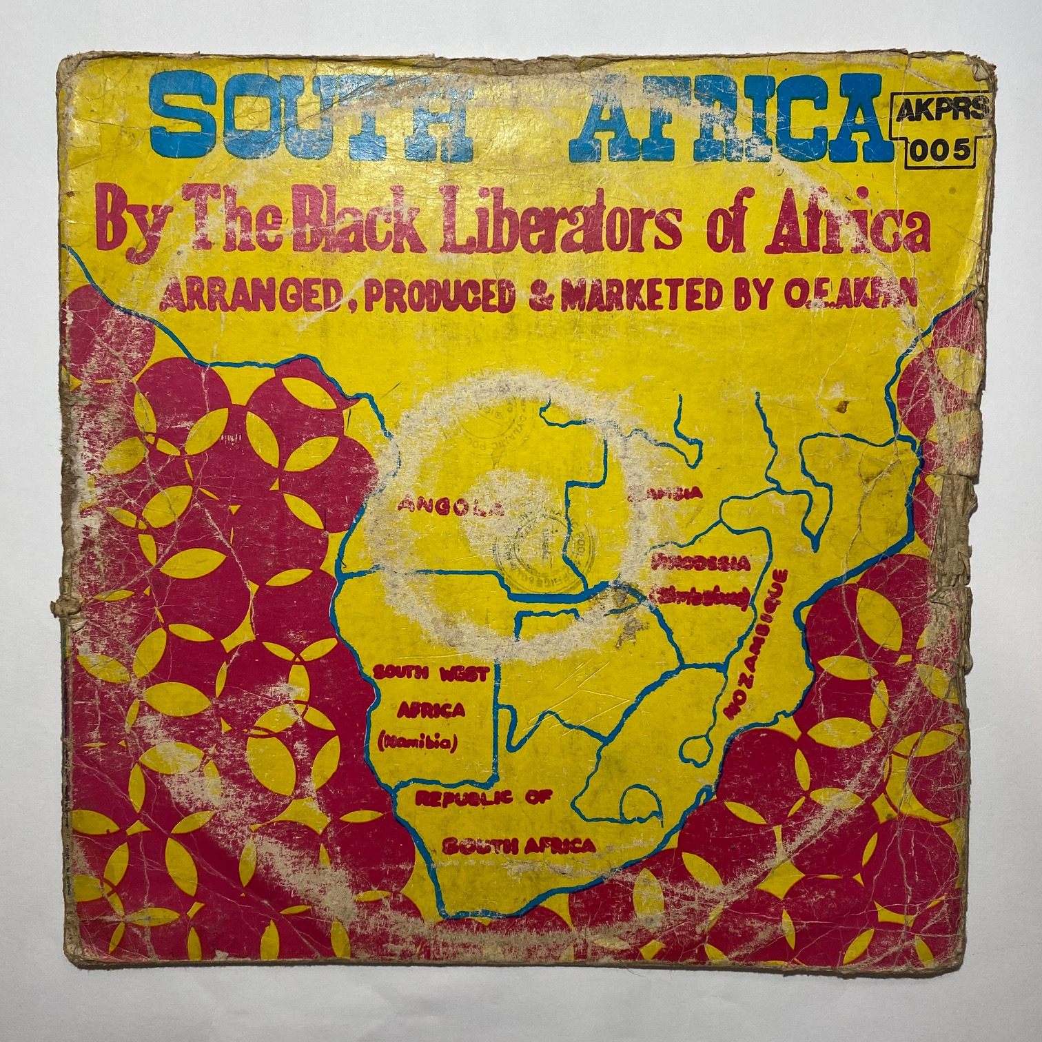 THE BLACK LIBERATORS OF AFRICA - South Africa - 33T