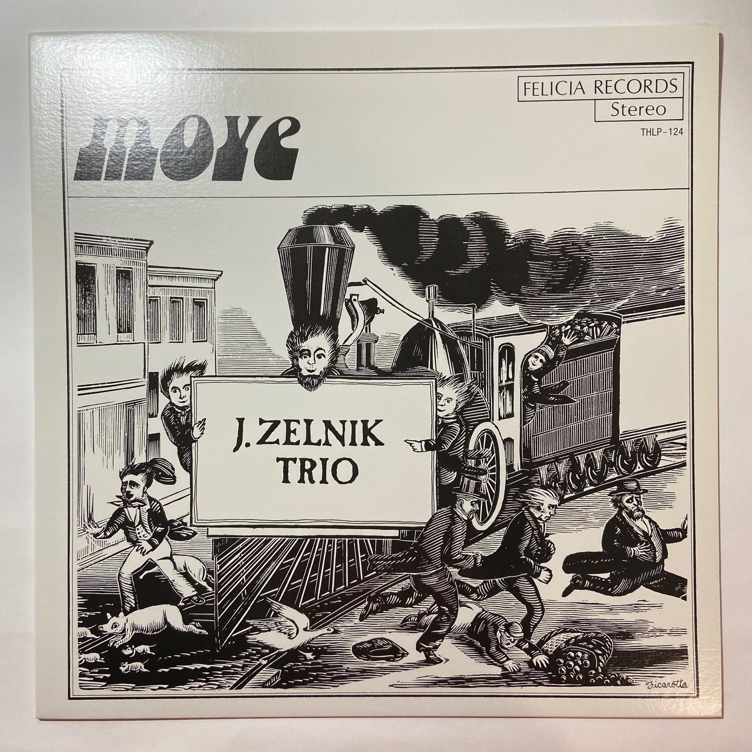 J. ZELNIK TRIO - Move - LP