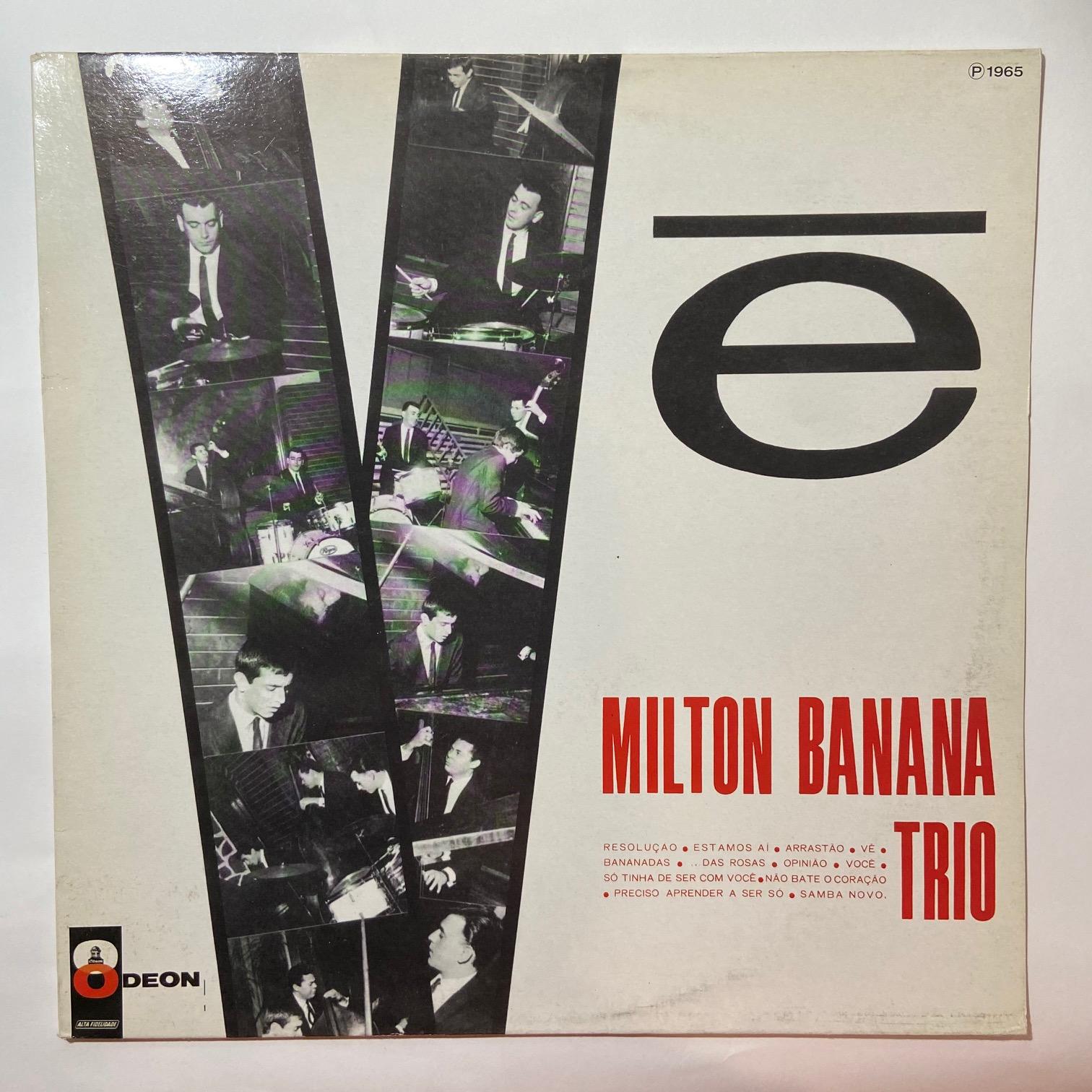 MILTON BANANA TRIO - Ve - LP