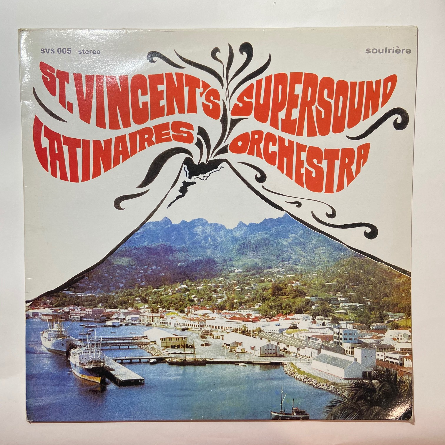 ST. VINCENT'S SUPERSOUND LATINAIRES ORCHESTRA - Same - LP